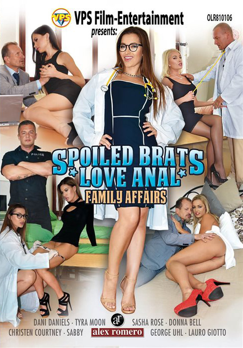 Family Affairs: Spoiled Brats Love Anal