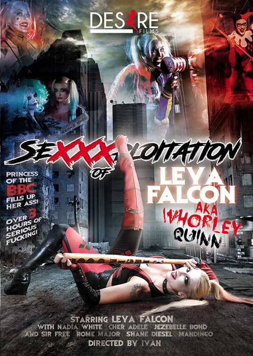 SeXXXploitation Of Leya Falcon AKA Whorley Quinn