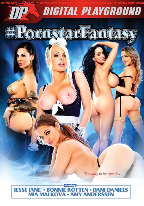 �������� � ������������ / Pornstar Fantasy / #PornstarFantasy (2015) DVDRip