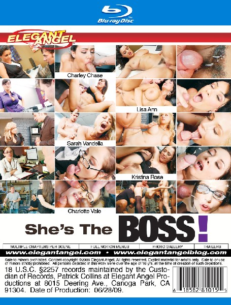 She s The Boss! (Blu-Ray)