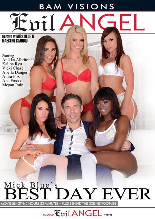 ����� ������ ���� ���� ��� / Mick Blue's Best Day Ever (2016) DVDRip