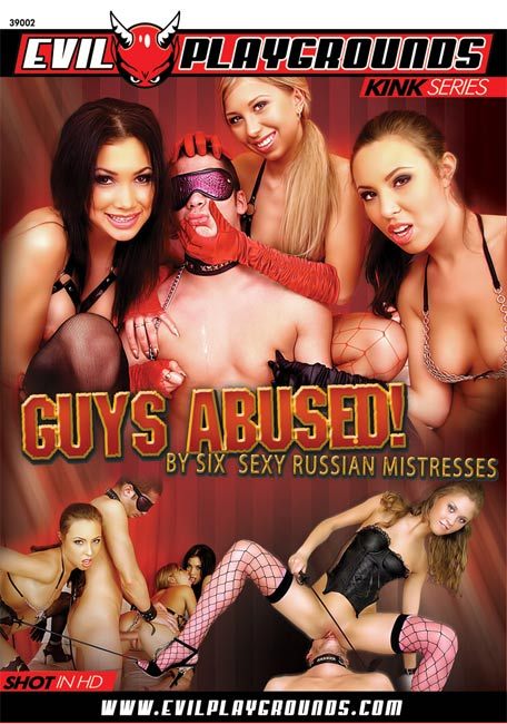 Guys Abused! By Six Sexy Russian Mistresses