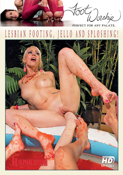 Lesbian Footing, Jello and Sploshing!