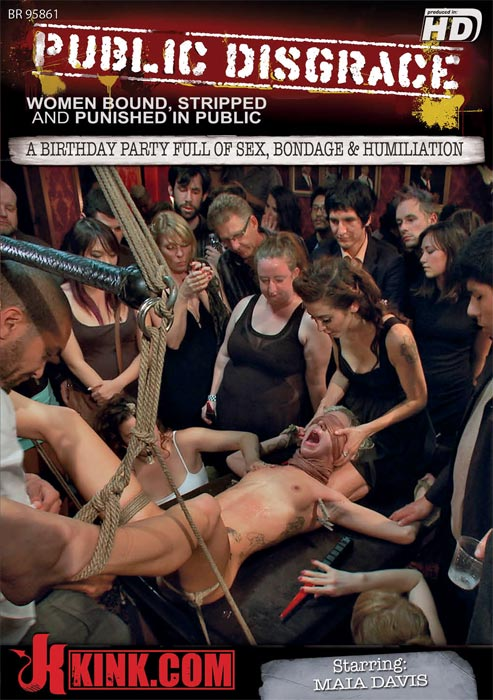 A Birthday Party Full of Sex, Bondage & Humiliation
