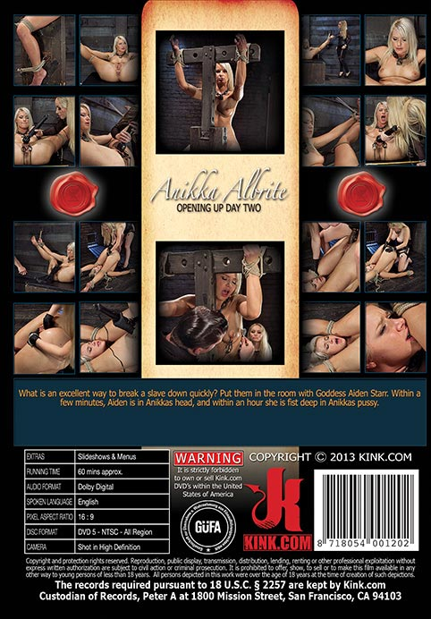 Opening up Anikka Albrite - Day Two