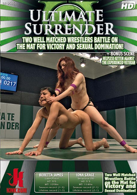Two Well Matched Wrestlers Battle on the Mat for Victory and Sexual Domination!