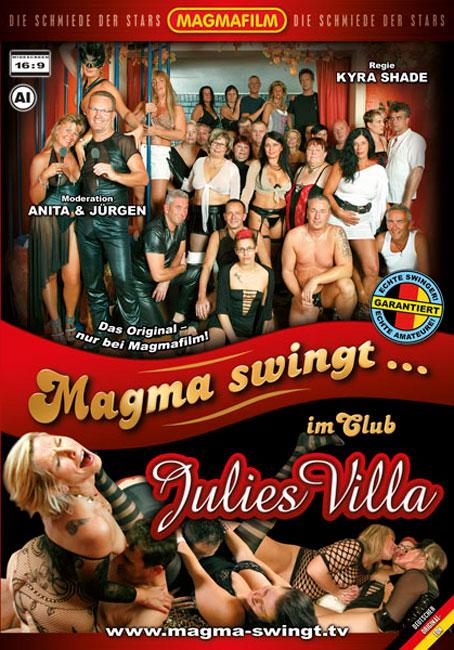 Magma swingt im Club Julies Villa