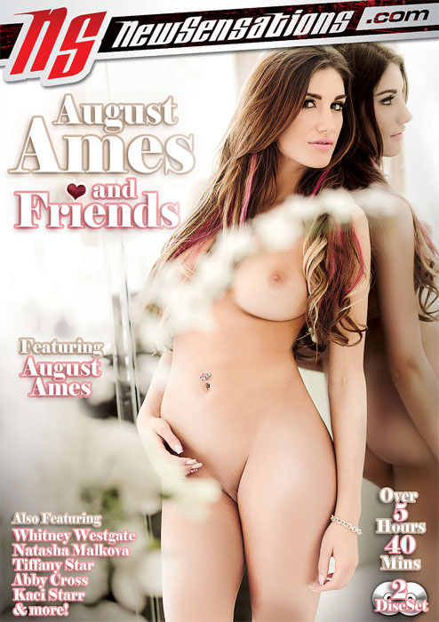 ������ ���� � ������ / August Ames And Friends (2014) DVDRip