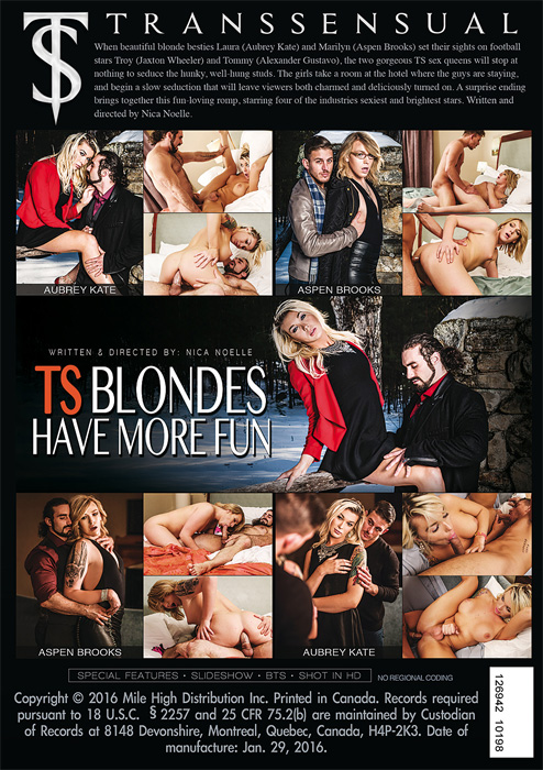 Ts Blondes Have More Fun